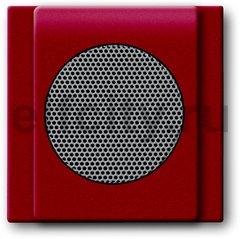 Плата центральная (накладка) для громкоговорителя 8223 U, серия impuls, цвет бордо/ежевика