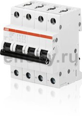 Автоматический выключатель 4P S204MT K0,2UC