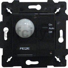 Автоматический выключатель 230 В~ , 40-400Вт, с функцией ручной режим, черный
