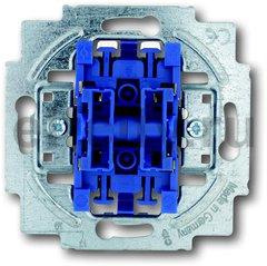 Механизм 1-клавишного, 1-полюсного выключателя жалюзи, с фиксацией, 10А 250В
