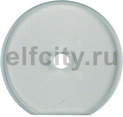 Рамка оконечная для поворотных выключателей, ударопрочная, горизонтальный/вертикальный монтаж, стекло прозрачное глянцевое