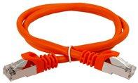 ITK Коммутационный шнур (патч-корд), кат.5Е FTP, 1м, оранжевый