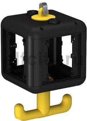 Корпус блока питания VH-4 (пустой) 140x140x252 мм (черный)