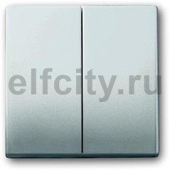 Клавиша для механизма 2-клавишных выключателей/переключателей/кнопок, серия pur/сталь