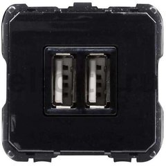 Механизм USB зарядного устройства, 2х750 мА / 1х1500 мА, серия OLAS/Tacto/SKY