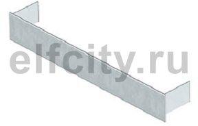 Торцевая заглушка кабельного канала EUK 190x27 мм (сталь)