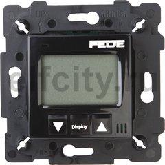 FD18001-M Терморегулятор Цифровой. 16A, с LCD монитором, черный