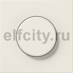 Диммер (светорегулятор) поворотный 60-600 Вт для ламп накаливания 220В, слоновая кость