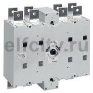 Перекидной выключатель-разъединитель DCX-M - 1250 А - типоразмер 5 - 3П+Н - винтовые зажимы