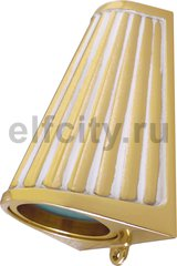 Точечный светильник Surface Lighting Bari Opaque Glass, Gold White Patina