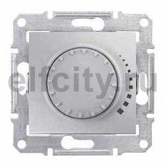 Диммер (светорегулятор) поворотный 25-325 Вт для ламп накаливания и галогенных 220В, алюминий