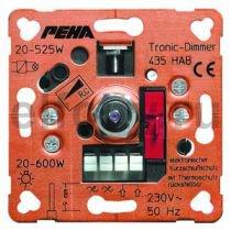 D 435 HAB O.A. Мех-м светорегулятора 20-525 ВА электронные трансф., 20-600 Вт для ламп накаливания