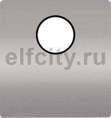 Монтажная плата для механизмов с одним коннектором, цвет chrome ,черный