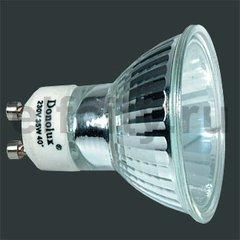 Donolux Лампа галогенная GU10 с алюминиевым покрытием 51mm 35w 40^, 220V 2800K, 2000h