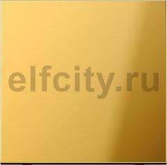 Выключатель одноклавишный, 10 А / 250 В, металл цвета золота