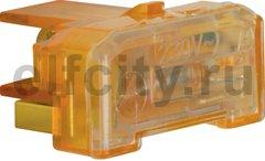 Элемент подсветки с N-клеммой цвет: оранжевый Модульные механизмы