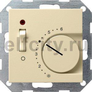 Терморегулятор с размыкающим контактом 24V/10 (4)A и контрольной лампой