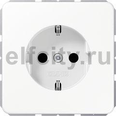 Розетка с заземляющими контактами 16 А / 250 В, белый