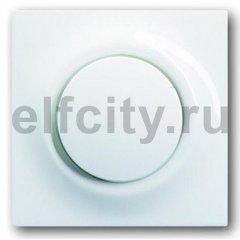 Выключатель перекресный, одноклавишный с подсветкой, (вкл/выкл 3-х мест) 10 A / 250 B, пластик белый глянцевый