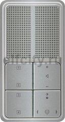 Радиоприемник скрытого монтажа с RDS с динамиком, платина