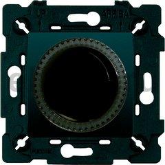 Диммер (светорегулятор) поворотный 40-500 Вт для ламп накаливания и галогенных 220В, черный