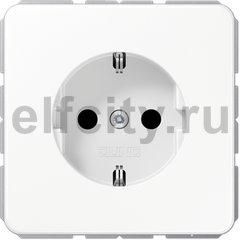 Штепсельная розетка SCHUKO 16A 250V~; белая