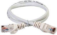 ITK Коммутационный шнур (патч-корд), кат.5Е UTP, 0,5м, белый