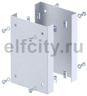 Защитная пластина для электромонтажных колонн ISS 250x166x33 мм (сталь,серебристо-белый)