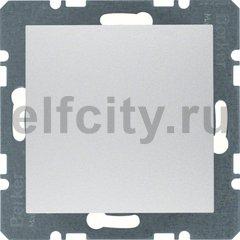 Заглушка с центральной панелью, S.1/B.3/B.7, цвет: алюминиевый, матовый