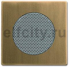Плата центральная (накладка) для громкоговорителя 8223 U, серия Династия, Латунь античная