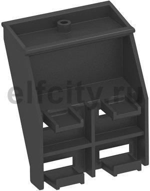 Крепежный зажим для гибкого канала для настольного бокса DB (черный)