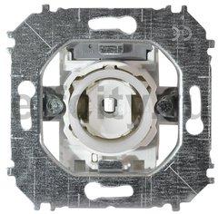 Механизм 1-клавишного, 1-полюсного переключателя 10А 250В, серия impuls
