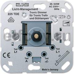 Диммер роторный; для низковольтных ламп с электронными трансформаторами; 20-525W/VA