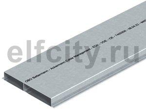 Кабельный канал для заливки в стяжку EUK 2000x190x28 мм (сталь)