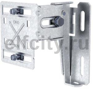 Крепежная консоль для монтажа кабельных каналов под подоконником (сталь)