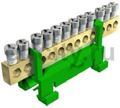 Клемма защитного провода желто-зеленая 12x16mm2