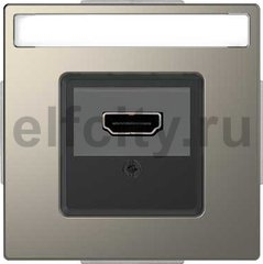 Розетка HDMI, никель