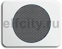 Плата центральная (накладка) для громкоговорителя 8223 U, серия alpha nea, цвет белый глянцевый
