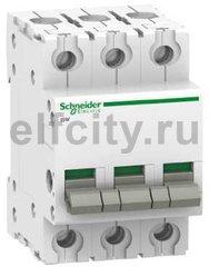 Выключатель нагрузки (рубильник) iSW 3П 63A
