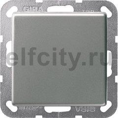 Выключатель одноклавишный перекрестный (вкл/выкл с 3-х мест) 10 А / 250 В, нержавеющая сталь
