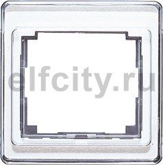 Рамка для вертикальной и горизонтальной установки 1-кратная; белая