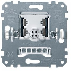 Стандартный поворотный выключатель, с подсветкой, цвет: светлый хром