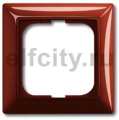 Рамка 1 пост, красный