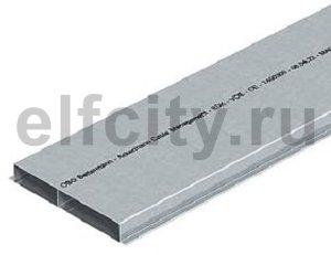 Кабельный канал для заливки в стяжку EUK 2000x250x28 мм (сталь)