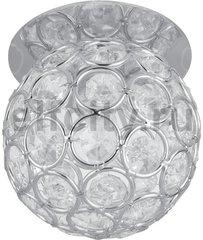 Точечный светильник Brilliance Ball, кристалл/хром