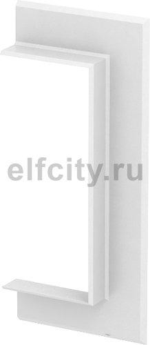 Настенная стыковая рамка кабельного канала Rapid 80 70x170 мм (ABS-пластик,белый)