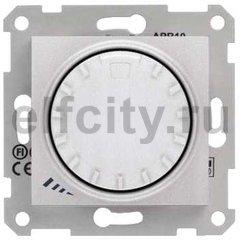 Диммер (светорегулятор) поворотный 40-1000 Вт для ламп накаливания и галогенных 220В, алюминий
