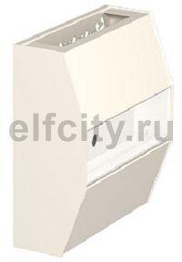 Монтажный блок UKR для установки доп. устройств 210x240x95 мм (кремовый)