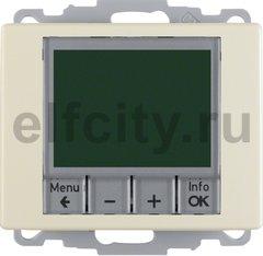 Регулятор температуры, с центральной панелью, Arsys, цвет: белый, глянцевый