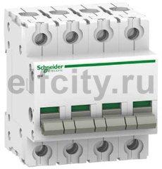Выключатель нагрузки (рубильник) iSW 4П 40A